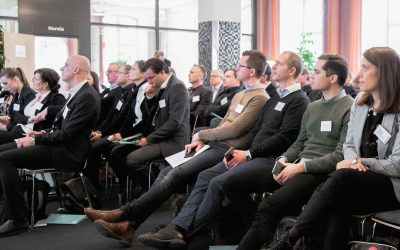 Myloc i paneldiskussion om bygglogistik och digitalisering av byggbranschen