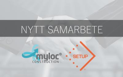 Set Up implementerar Myloc® Construction för effektivare logistik i flyttprojekt
