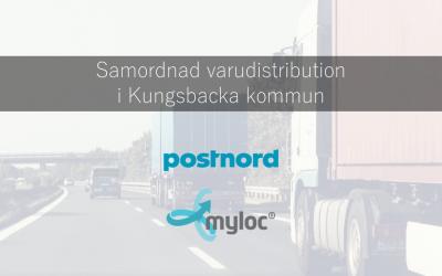 Myloc effektiviserar samordnad varudistribution i Kungsbacka Kommun