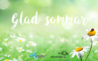 Glad sommar önskar Myloc och Olivetree