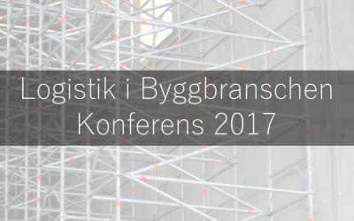 Myloc håller presentation på konferensen Logistik i Byggbranschen
