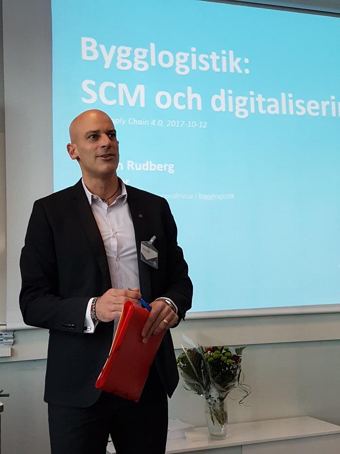 Martin Rudberg, Supply Chain 4.0