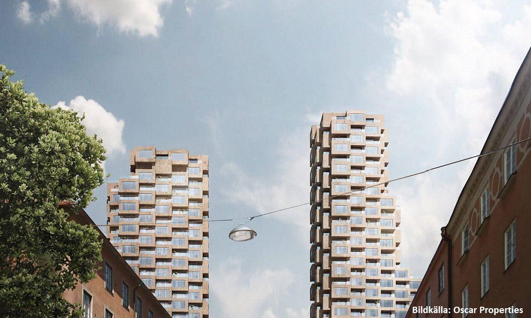 Oscar Properties väljer Myloc Construction för effektivare bygglogistik