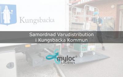 Samordnad Varudistribution i Kungsbacka kommun –  bättre kontroll med Myloc Logistics