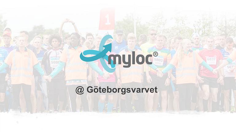 Göteborgsvarvet 2018 – Myloc på plats