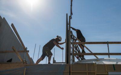 Sparar tid och pengar med effektiv bygglogistik
