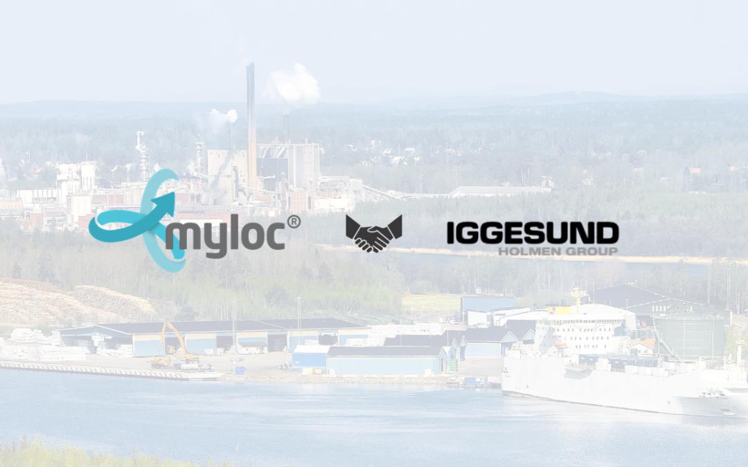Transportnytt uppmärksammar nyhet om Myloc och Iggesund Paperboard