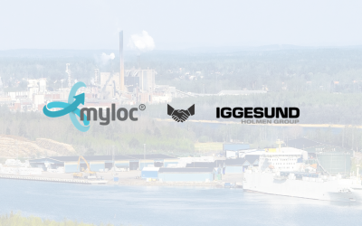 New collaboration between Myloc and Iggesund Paperboard