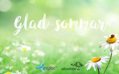 Glad sommar önskar Myloc och Olivetree!