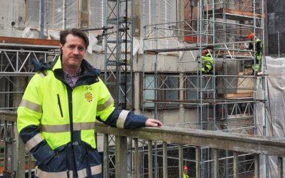 Intervju med Stefan Fenelius om Sergelhuset och byggprojektets logistiklösning