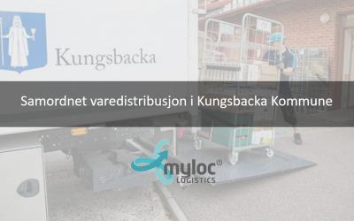 Myloc effektiviserer samordnet varedistribusjon i Kungsbacka Kommune