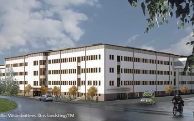 Logistiklösning för Norrlands Universitetssjukhus – ÅF, Myloc och DB Schenker i samarbete
