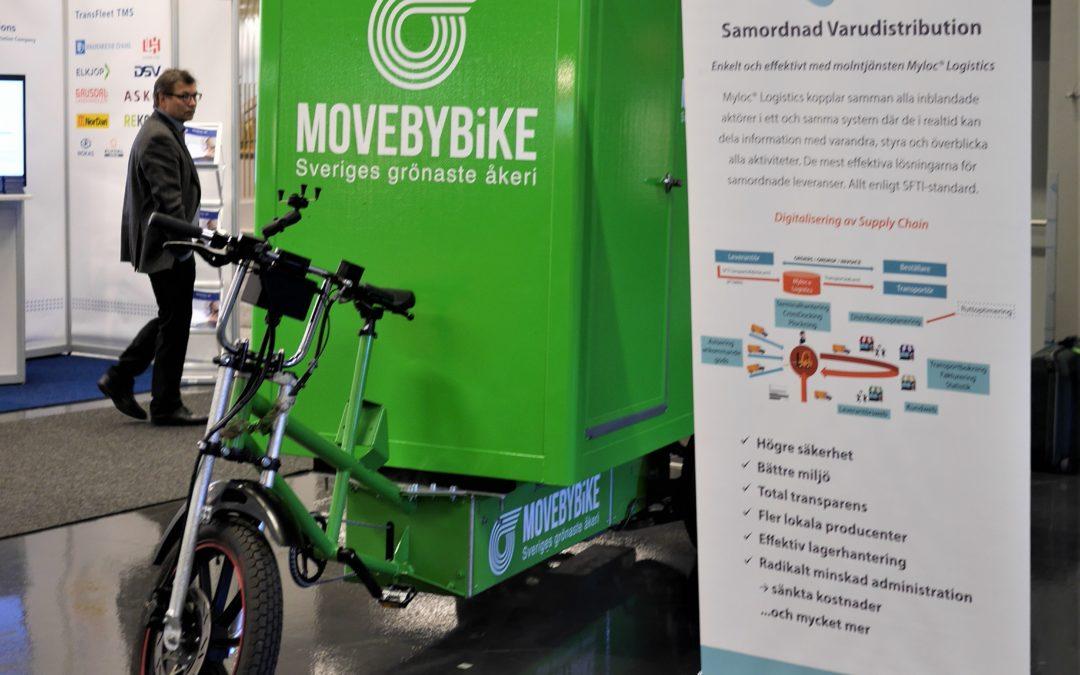 Logistik & Transport – bilder från mässan i Göteborg