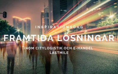 Material från ÅFs inspirationsdag om citylogistik och e-handel