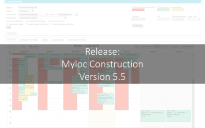 Release: Myloc Construction version 5.5