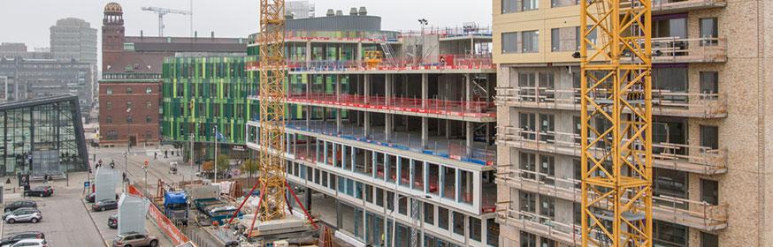 Effektiv bygglogistik med Myloc Construction