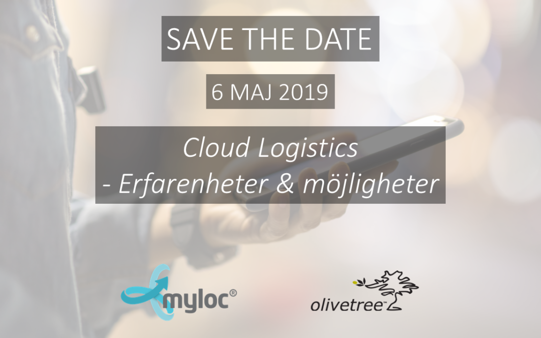 Inspirationsdag 6 maj: Cloud Logistics – erfarenheter och möjligheter