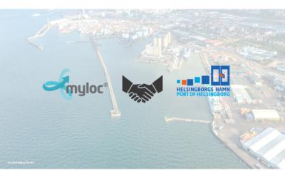Helsingborgs Hamn anlitar Myloc för effektivare logistik