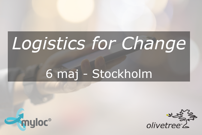 Inspirationsdag 6 maj: Logistics for Change