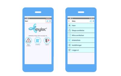 Inspelat webinarium om appen Myloc Go för mottagning av leveranser
