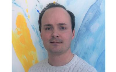Jonathan Nilsson, Helsingborgs Hamn, föreläser på Mylocs inspirationsdag
