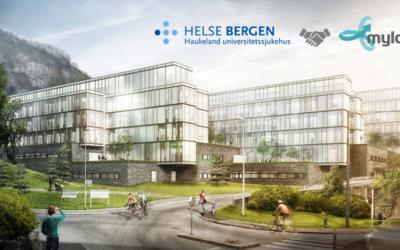 Helse Bergen velger Myloc Construction for prosjekt Nytt Barne- og Ungdomssjukehus ved Haukeland Sjukehus