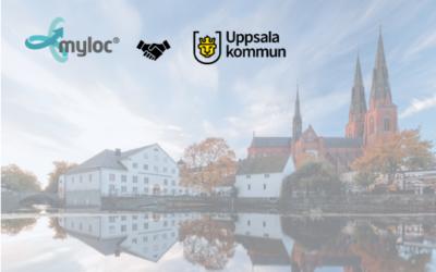 Uppsala kommun digitaliserar sina logistikflöden