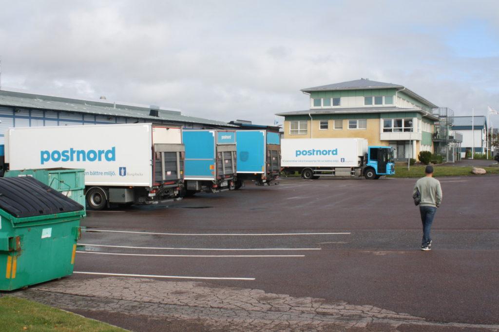 kungsbacka kommun myloc logistics postnord samordnad varudistribution