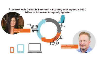 Webinarium: Återbruk och Cirkulär Ekonomi – ett steg mot agenda 2030