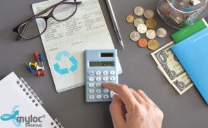 Spara pengar på ditt återbruk Myloc Sharing Dela sparar du pengar