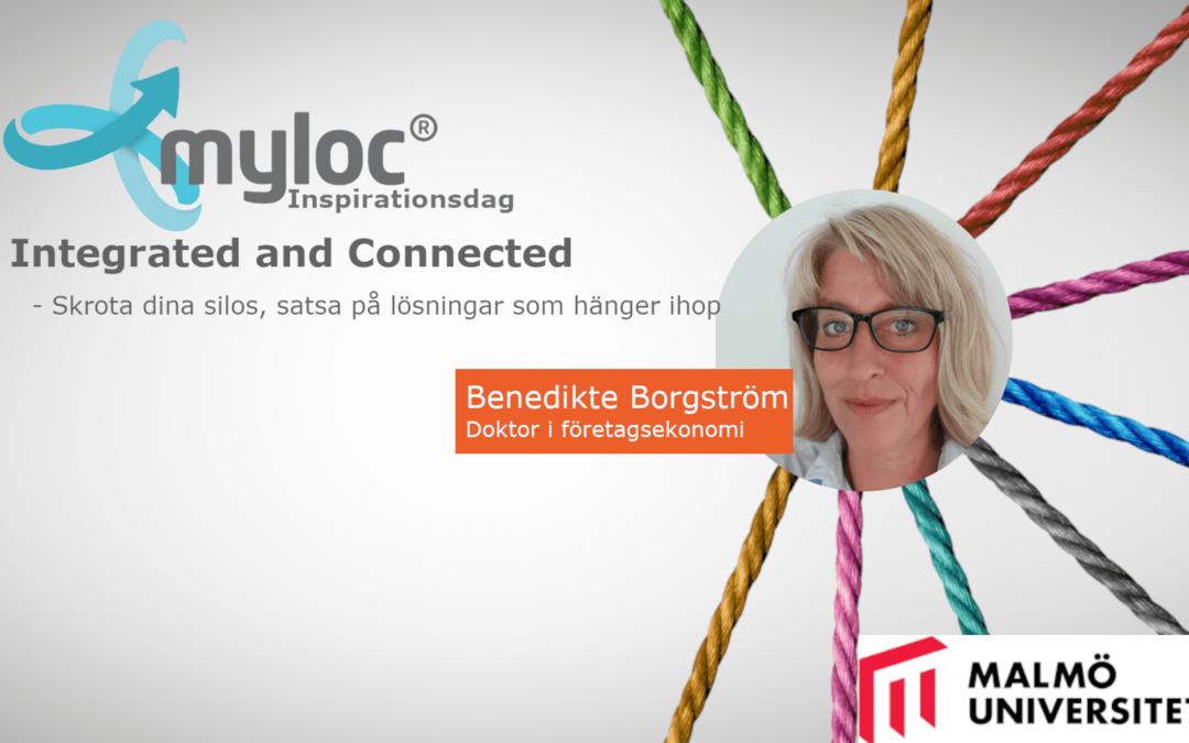 Benedikte Borgström talare på Mylocs Inspirationsdag!