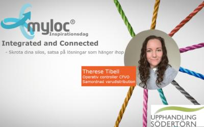 Therese Tibell talare på Mylocs Inspirationsdag!