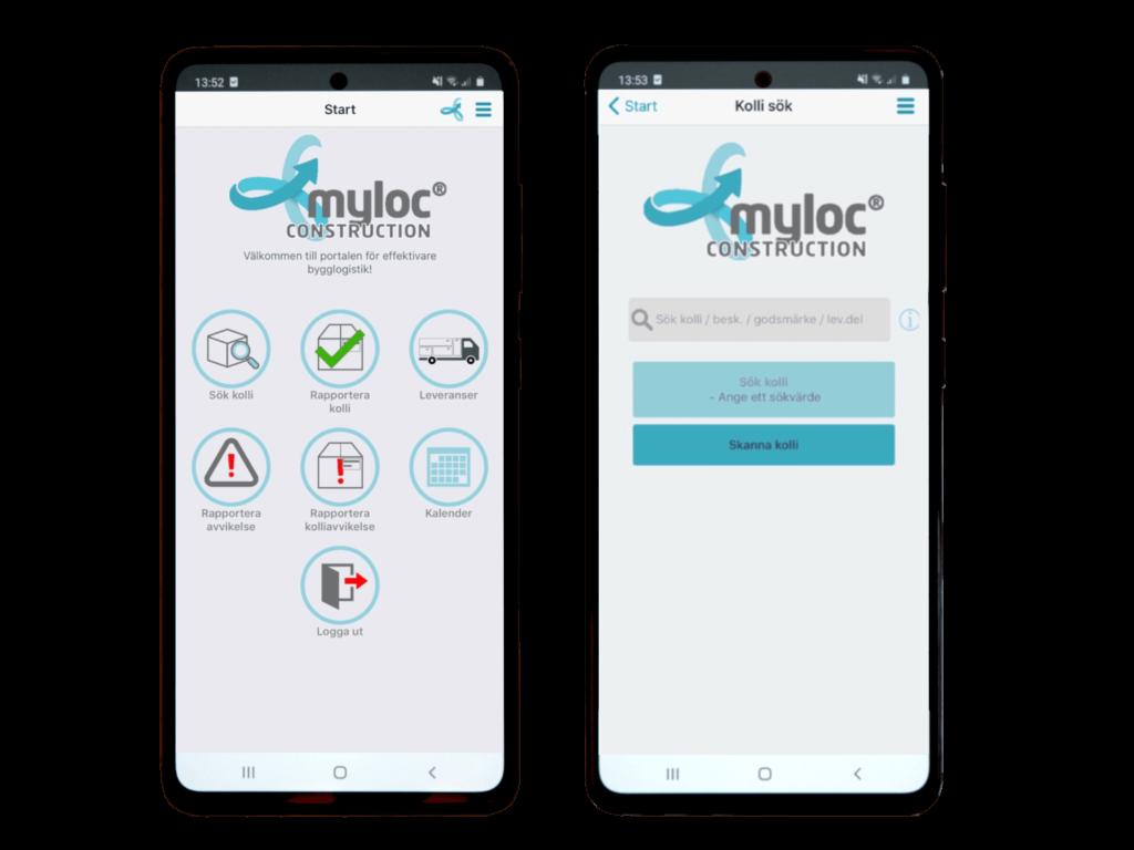Myloc Construction GO mobil