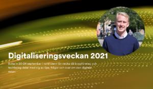 Daniel Nordh på Myloc COnstructino talare på Byggföretagen digitaliseringsveckan #digiveckan