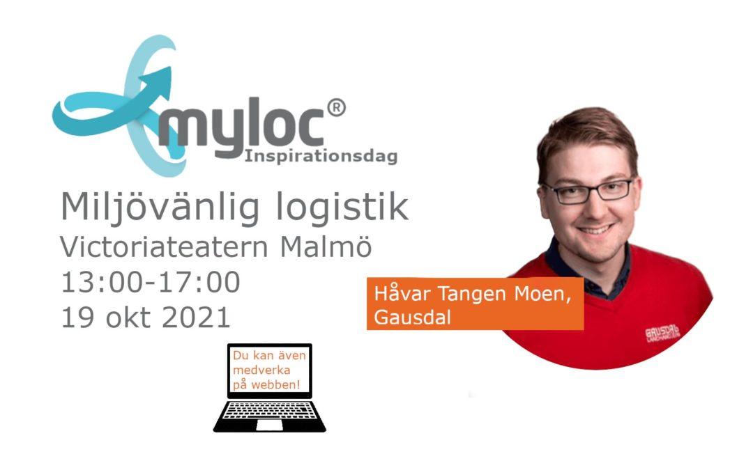 Håvar Tangen Moen talare på Mylocs Inspirationsdag!