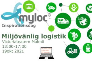 Mylocs inspirationsdag hösten 2021 miljövänlig logistik