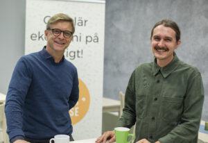 Andreas Anderholm Pedersen Klas nason-GladhGIAB Godsinlösen Myloc Inspirationdsag cirkulär ekonomi