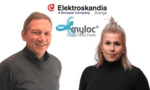 Myloc Construction Elektroskandia Integrerar Magnus Rydberg Tove Hedengren